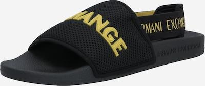 Sandalo ARMANI EXCHANGE di colore giallo / nero, Visualizzazione prodotti