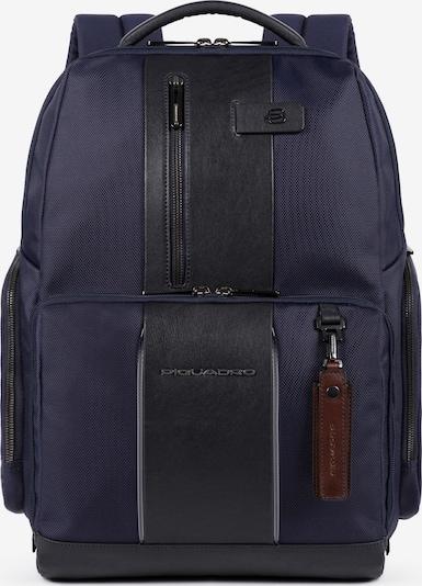 Piquadro Laptoptasche in dunkelblau / schwarz, Produktansicht
