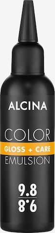 Alcina Hair Dyes 'Gloss + Care Color Emulsion' in Silver