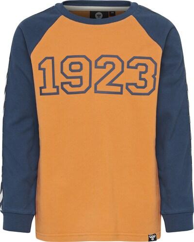 Hummel Shirt 'Lucky' in navy / senf / weiß, Produktansicht
