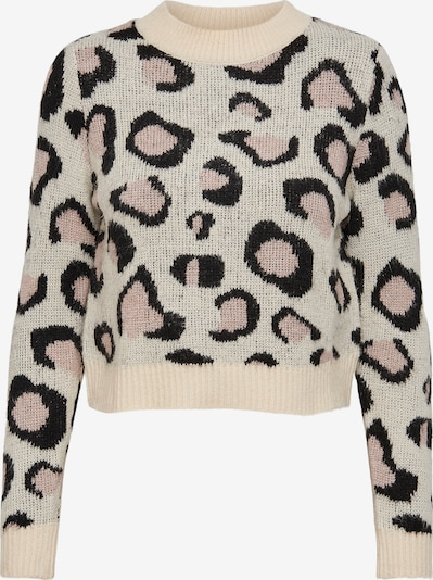 ONLY Sweater in Beige / Pink / Black, Item view