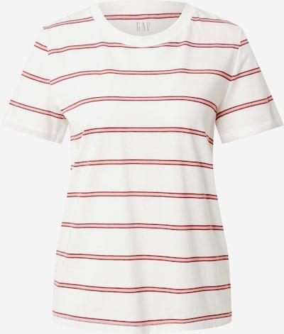 GAP Shirt in Powder / Dark red / Off white, Item view