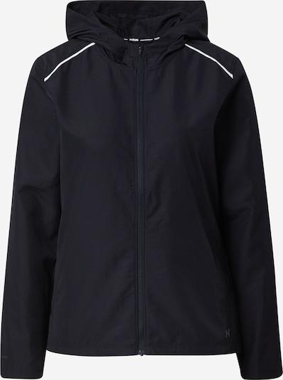 UNDER ARMOUR Trainingsjacke 'OutRun' in silbergrau / schwarz, Produktansicht