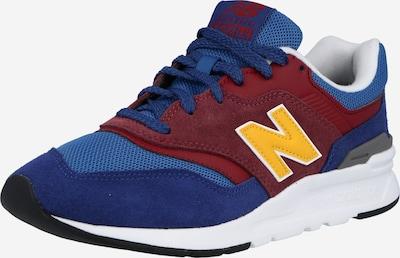 new balance Sneaker '997' in blau / gelb / burgunder / weiß, Produktansicht