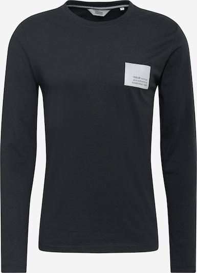 !Solid Majica 'Maiko' | srebrno-siva / črna barva, Prikaz izdelka