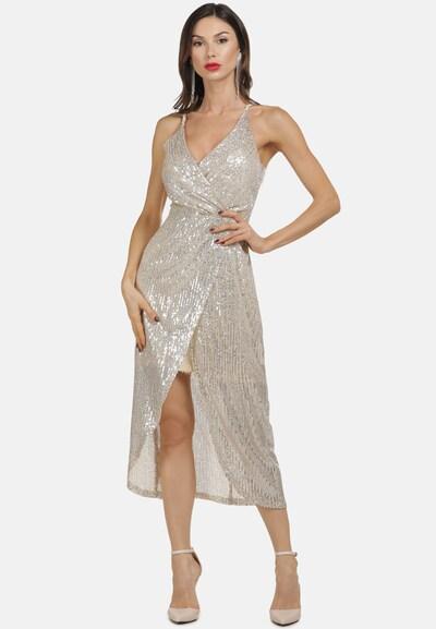 faina Kleid in beige, Modelansicht