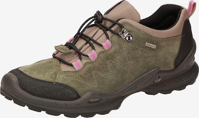 SIOUX Lage schoen 'Outsider-DA-700-TEX' in de kleur Olijfgroen / Pink / Zwart, Productweergave