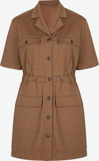 Aligne Shirt dress 'Caledonia' in Light brown, Item view