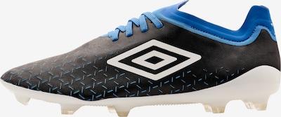 UMBRO Voetbalschoen 'Velocita V Pro' in de kleur Blauw / Zwart / Wit, Productweergave