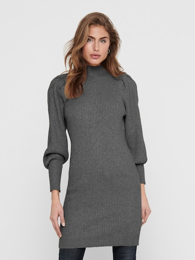 ONLY Kleid 'Katia' in dunkelgrau, Modelansicht