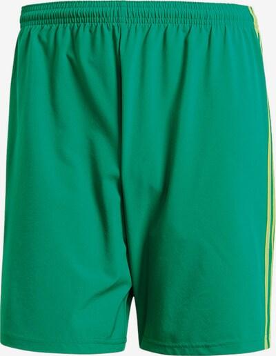 ADIDAS PERFORMANCE Hose in gelb / grün, Produktansicht