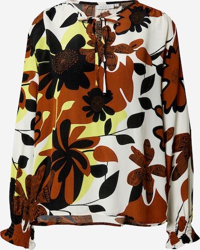Masai Bluza u boja pijeska / smeđa / žuta / crna, Pregled proizvoda