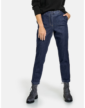 GERRY WEBER Jeans 'Dry Indigo' in Blau