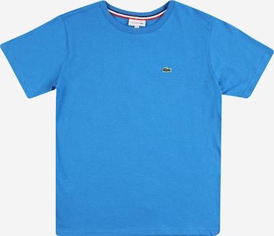 LACOSTE T-Shirt in blau / grasgrün / weiß, Produktansicht