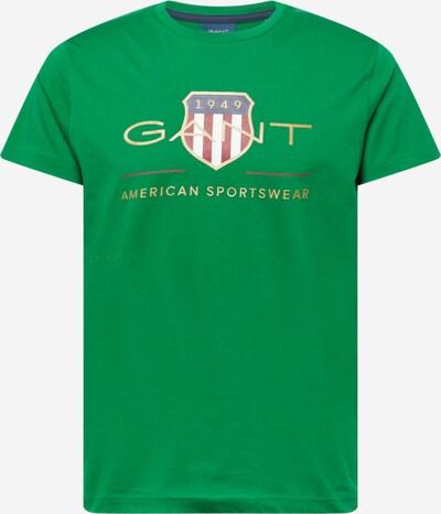 GANT Μπλουζάκι σε πράσινο / ανάμεικτα χρώματα, Άποψη προϊόντος