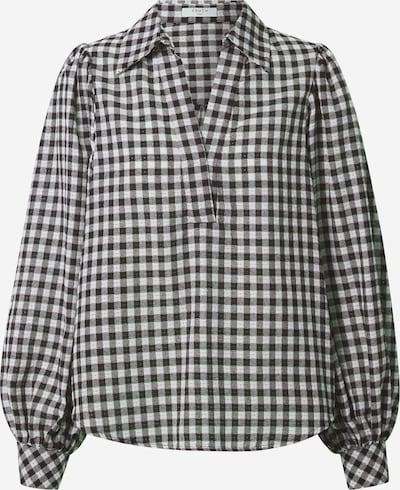 Bluză FRNCH PARIS pe negru / alb, Vizualizare produs