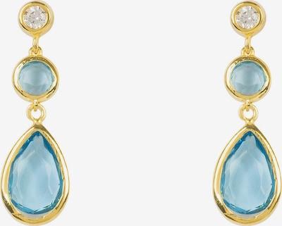 Latelita Ohrringe in blau / gold, Produktansicht