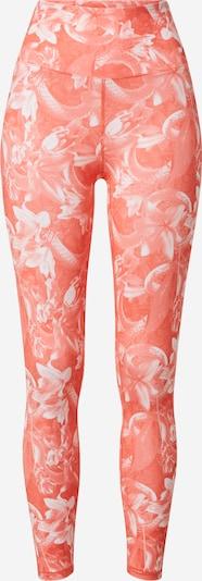 PUMA Pantalon de sport en corail / blanc, Vue avec produit