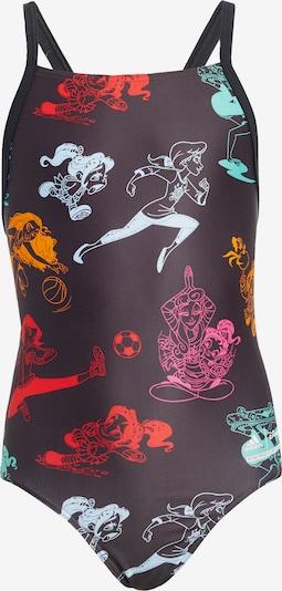 ADIDAS PERFORMANCE Sportbadkläder i jade / orange / röd / svart / vit, Produktvy