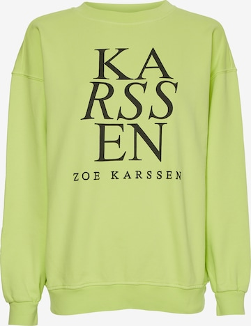 Sweat-shirt ZOE KARSSEN en vert
