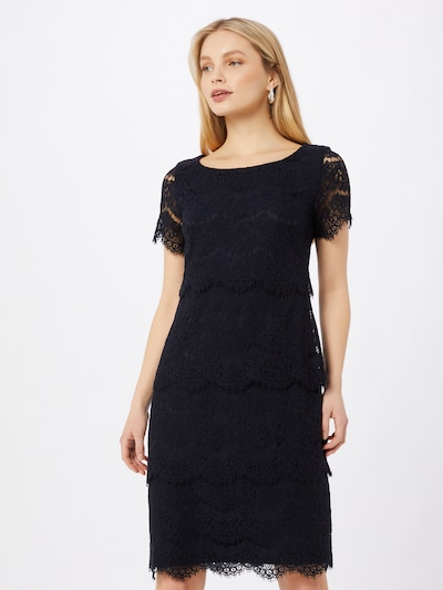 Vera Mont Kleid in nachtblau, Modelansicht