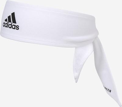 ADIDAS PERFORMANCE Športen trak za čelo | črna / bela barva, Prikaz izdelka
