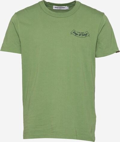 Tricou 'DARIUS' Kings Of Indigo pe verde închis / roșu / negru / alb, Vizualizare produs
