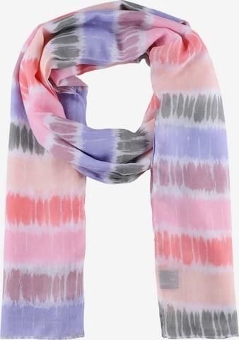 Zwillingsherz Scarf 'Regenbogen' in Pink