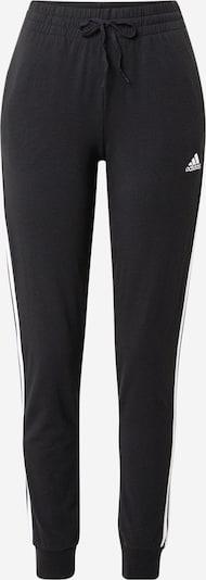 Sportinės kelnės iš ADIDAS PERFORMANCE, spalva – juoda / balta, Prekių apžvalga
