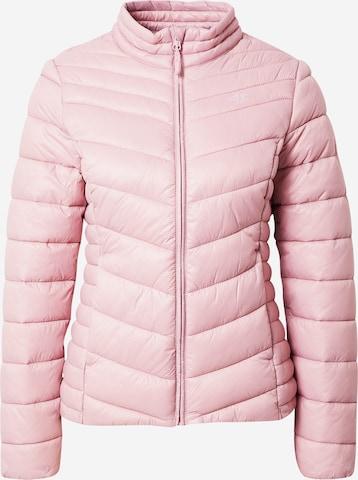 4F Outdoorjas in Roze