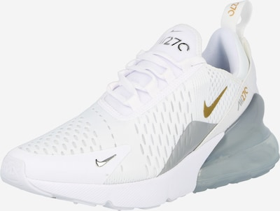 Nike Sportswear Sneakers 'AIR MAX 270' in yellow gold / Grey / White, Item view