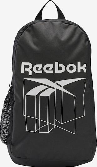 Reebok Classic Rucksack in schwarz / weiß, Produktansicht