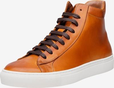 SHOEPASSION Sneakers hoog 'No. 121 MS' in de kleur Cognac: Vooraanzicht