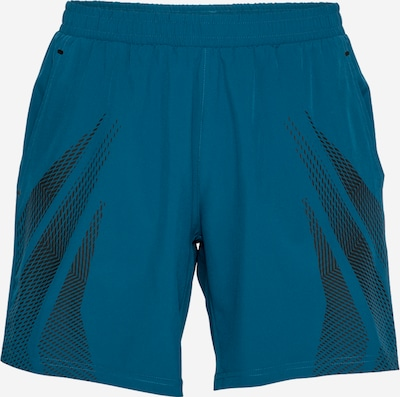 Pantaloni sport 4F pe navy / negru, Vizualizare produs
