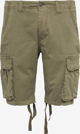 DreiMaster Vintage Shorts in oliv, Produktansicht