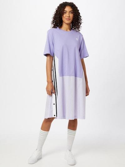 ADIDAS ORIGINALS Kleid in lila / weiß, Modelansicht