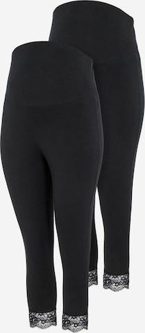 Mamalicious Curve Leggings 'MLELIANA' in Black