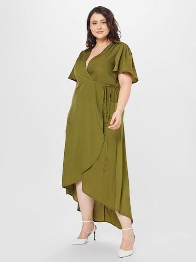 Missguided Plus Společenské šaty - khaki, Model/ka