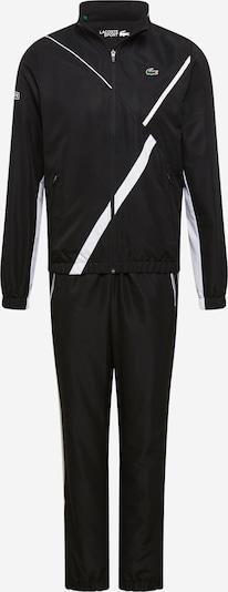 Lacoste Sport Športna obleka 'TAFFETAS DIAMANTE' | črna / bela barva, Prikaz izdelka