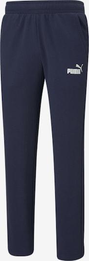 PUMA Pantalon de sport en bleu nuit, Vue avec produit