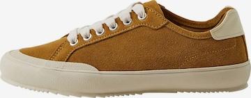 MANGO Sneakers 'Hague' in Brown