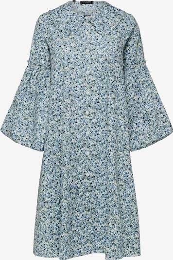 SELECTED FEMME Sukienka koszulowa 'Roman' w kolorze błękitny / białym, Podgląd produktu
