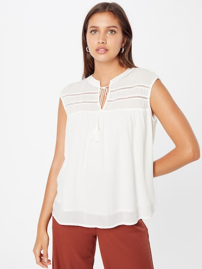 COMMA Blouse in White, View model