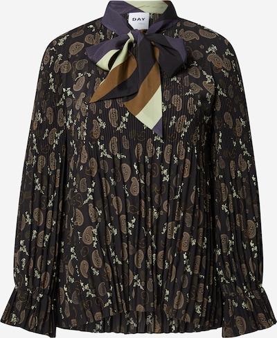 DAY BIRGER ET MIKKELSEN Bluza 'Macy' | bež / temno modra / rjava / črna barva, Prikaz izdelka