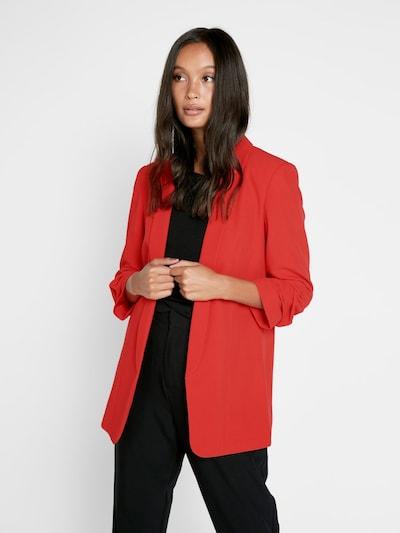 PIECES Blazer in rot, Modelansicht