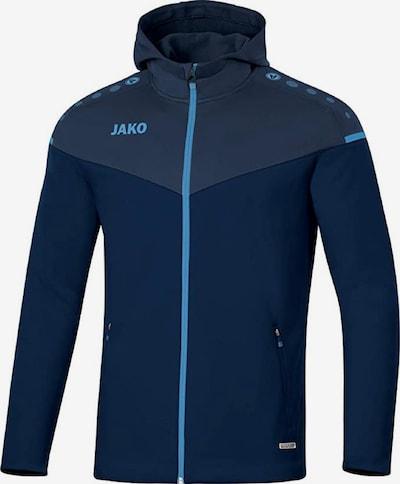 JAKO Jacke 'Champ 2.0' in dunkelblau / grau, Produktansicht