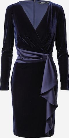 Lauren Ralph Lauren Cocktail Dress 'KEERA' in Blue