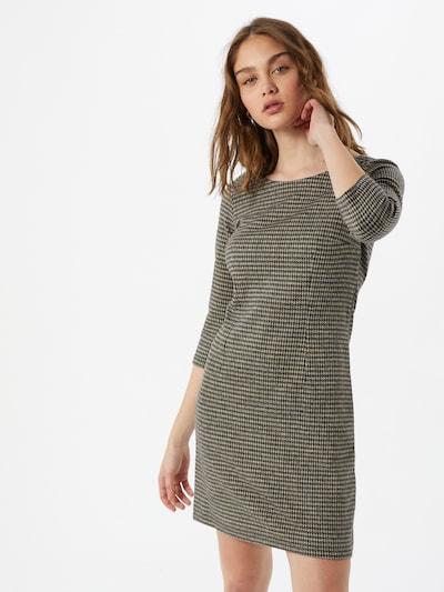 TOM TAILOR Kleid in grau / weiß, Modelansicht