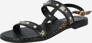 REPLAY Sandale 'NYMET' in Schwarz