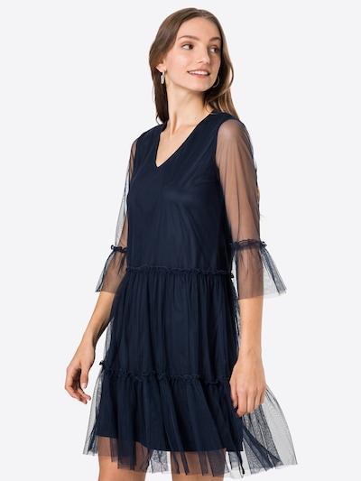 VILA Šaty 'VERANDA' - námornícka modrá, Model/-ka